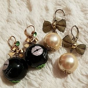 Betsey Johnson drop balls